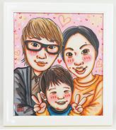 母の日に家族の似顔絵を贈ろう